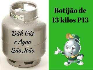 Botijão 13 kg uso residencial P13