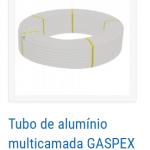 tubo de aluminio para gas