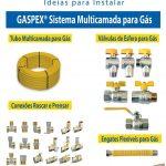peças para intalação de gás